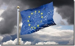 Broken European Flag